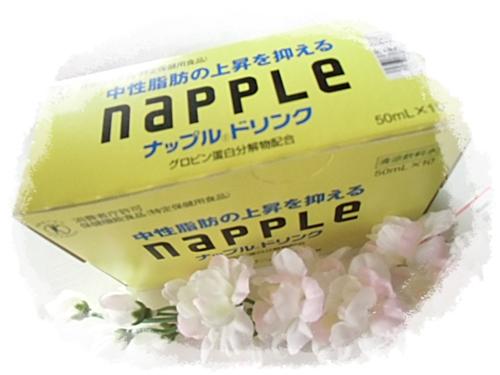 ナップルドリンクは中性脂肪が気になる人が飲むトクホです
