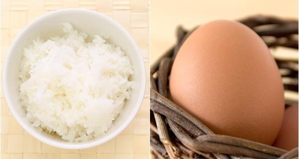 朝はたまごかけご飯で頭と体にい栄養補給を!